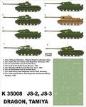 Montex K35008 # IS-2, IS-3 (Tamiya/Dragon) (1/35) w sklepie internetowym JadarHobby