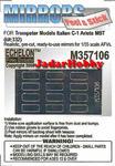Echelon M357106 Mirrors for C-1 Ariete MBT (na zamowienie/for order) w sklepie internetowym JadarHobby