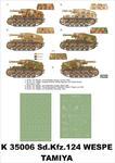 Montex K35006 # Sd.Kfz.124 Wespe (Tamiya) (1/35) w sklepie internetowym JadarHobby
