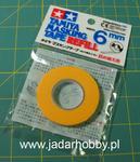Tamiya 87033 - Tamiya Masking Tape Refill 6mm (18m) w sklepie internetowym JadarHobby