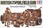 Tamiya 35046 British 25PDR. Field Gun (1/35) w sklepie internetowym JadarHobby