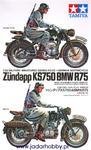 Tamiya 35023 German BMW R75 / Zundapp KS750 (1/35) w sklepie internetowym JadarHobby