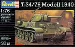 Revell 03212 - T-34/76 Model 1940 (1/76) w sklepie internetowym JadarHobby