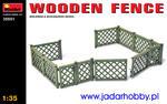 MiniArt 35551 Drewniane ogrodzenie (1:35) w sklepie internetowym JadarHobby