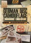 AK Interactive AK158 GERMAN CAMO DISC (1/48) w sklepie internetowym JadarHobby