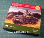 Plastic Soldier WW2V20004 - Allied M4A1 Sherman Tank w sklepie internetowym JadarHobby
