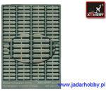 Armory AR PE7216 Rosyjskie tablice rejestracyjne-elementy fototrawione (1/72) w sklepie internetowym JadarHobby