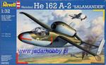 "Revell 04723 He162A-2 ""Salamander"" (1/32) w sklepie internetowym JadarHobby"