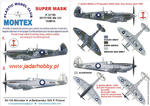Montex K32186 Spitfire Mk.VIII (Tamiya) (1/32) SUPER MASK w sklepie internetowym JadarHobby