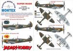 Montex K32181 Spitfire Mk.VIII (Tamiya) (1/32) SUPER MASK w sklepie internetowym JadarHobby