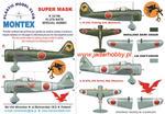 Montex K32196 Ki-27b NATE (Special Hobby) (1/32) SUPER MASK w sklepie internetowym JadarHobby