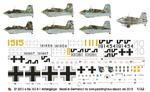 Peddinghaus 2073 1:32 Messerschmitt Me 163 (na zamowienie/for order) w sklepie internetowym JadarHobby
