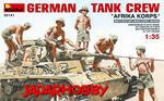 MiniArt 35141 German Tank Crew, Afrika Korps (1/35) w sklepie internetowym JadarHobby