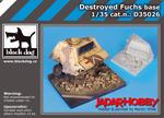 Black Dog D35026 Destroyed Fuchs base (1/35) w sklepie internetowym JadarHobby