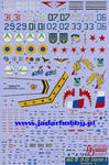 Authentic Decals 72-03 MiG-29 (9-13) Fulcrum C part I (1/72) w sklepie internetowym JadarHobby