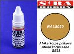 Sira Hobby GE22 Afrika Korps Sand RAL8020 (Farba akrylowa 12ml) w sklepie internetowym JadarHobby