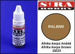 Sira Hobby GE23 Afrika Korps Brown RAL8000 (Farba akrylowa 12ml) w sklepie internetowym JadarHobby