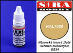Sira Hobby GE24 German Dunkelgelb RAL7028 (Farba akrylowa 12ml) w sklepie internetowym JadarHobby