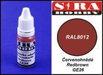 Sira Hobby GE26 Redbrown RAL8012 (Farba akrylowa 12ml) w sklepie internetowym JadarHobby