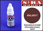 Sira Hobby GE27 Chocolate Brown RAL8017 (Farba akrylowa 12ml) w sklepie internetowym JadarHobby