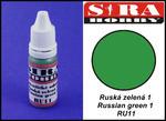 Sira Hobby RU11 Russian Green 1 (Farba akrylowa 12ml) w sklepie internetowym JadarHobby