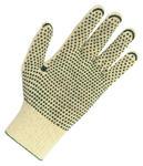 Rękawice 100% bawełna,nakrapiane PVC 200 par, rozmiar 9 w sklepie internetowym 24zakupy.com