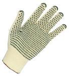 Rękawice 100% bawełna,cienkie,nakrapiane PVC 200 par, rozmiar 7 w sklepie internetowym 24zakupy.com