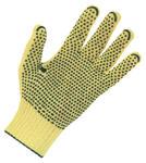 Rękawice 100% KEVLAR ?,nakrapiane PVC, 200 par, rozmiar 7 w sklepie internetowym 24zakupy.com