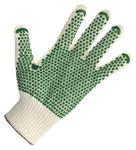 Rękawice poliamid HT+bawełna,supermocne cienkie,nakrapiane PVC, 200 par, rozmiar 9 w sklepie internetowym 24zakupy.com