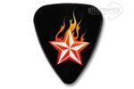GROVER ALLMAN kostka gitarowa Flame Theme - Flame Star w sklepie internetowym Gitarownia.pl