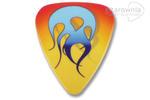 GROVER ALLMAN kostka gitarowa Flame Theme - Blue Flame w sklepie internetowym Gitarownia.pl