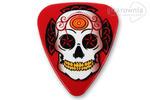 GROVER ALLMAN kostka gitarowa Sugar Skull Theme - Red w sklepie internetowym Gitarownia.pl