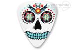 GROVER ALLMAN kostka gitarowa Sugar Skull Theme - White w sklepie internetowym Gitarownia.pl