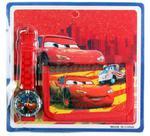 Portfel dziecięcy + zegarek Samochody - Cars w sklepie internetowym Krasta.pl