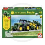 Puzzle, John Deere 6630 z opryskiwaczem 40 elementów z traktorem w sklepie internetowym Agrokom