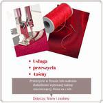 Usługa obszywania wszycia taśmy do firan i zasłon w sklepie internetowym Magdalena24.pl