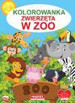 Kolorowanka Zwierzęta w ZOO w sklepie internetowym wydawnictwomartel.pl