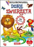 Kolorowanka z naklejkami Dzikie zwierzęta w sklepie internetowym wydawnictwomartel.pl