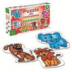 Zwierzątka - puzzle dla maluszków w sklepie internetowym Przyrodnicze.pl