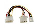 Przewód, kabel zasilający 2* molex i FDD ADA-0009 w sklepie internetowym CentrumElektroniki.pl