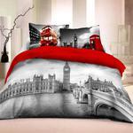 Pościel bawełniana 220x200 Londyn 3D 8690 Młodzieżowa Faro w sklepie internetowym Decoarty.pl
