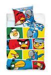 Pościel Angry Birds 160x200 Komiks Carbotex w sklepie internetowym Decoarty.pl
