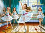 Puzzle 260 el. Little Ballerinas Castorland w sklepie internetowym Bawisklep.pl