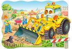 Puzzle 20 el. MAXI, Bulldozer in action Castorland w sklepie internetowym Bawisklep.pl