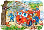 Puzzle 20 el. MAXI, Fire Brigade Castorland w sklepie internetowym Bawisklep.pl