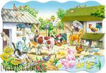 Puzzle 20 el. MAXI, Farm Castorland w sklepie internetowym Bawisklep.pl