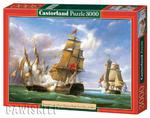 Puzzle 3000 el. Combat betwen Franch and English c w sklepie internetowym Bawisklep.pl