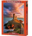 Puzzle 500 el. The Lighthouse Petit Minou, France w sklepie internetowym Bawisklep.pl