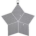 Kanwa plastikowa biała mleczna - gwiazda 14cm w sklepie internetowym Nadodatek.pl