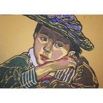 """Kanwa J6074p St. Wyspiański """"Dziewczynka w kapeluszu"""" - 30x40cm w sklepie internetowym Nadodatek.pl"""